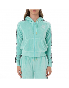 Authentic Juicy Couture Egeo, Hoodie in velour woman